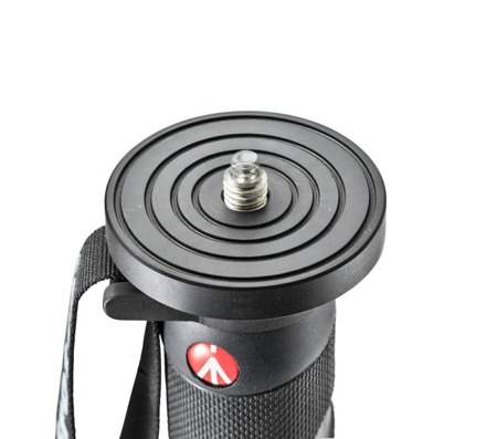 Manfrotto Monopod video 5 sekc carbon