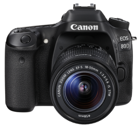 Canon EOS 80D + obiektyw 18-55 mm IS STM -cashback 430,00