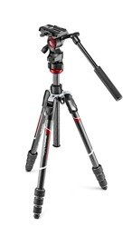 Manfrotto MVKBFRTC-LIVE Befree Live Twist Carbon + głowica MVH400AH