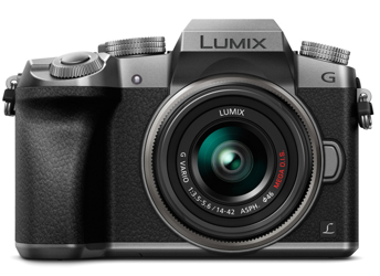Panasonic Lumix DMC-G7 + ob. 14-42 srebrny + upgrade