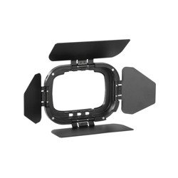 Quadralite Reporter 200 TTL A-type Head Barndoor Kit wrota