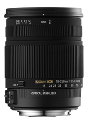 Sigma 18-250mm F/3.5-6.3 DC OS HSM do Canon