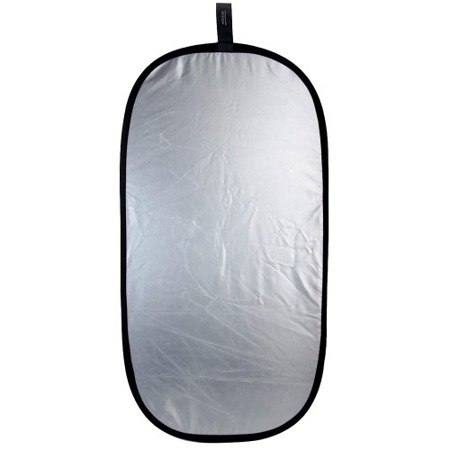 Blenda Rogue 2-in-1 Reflector Silver/White 20x40""