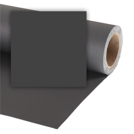 Colorama CO468 BLACK - tło kartonowe 3,55 x 30m