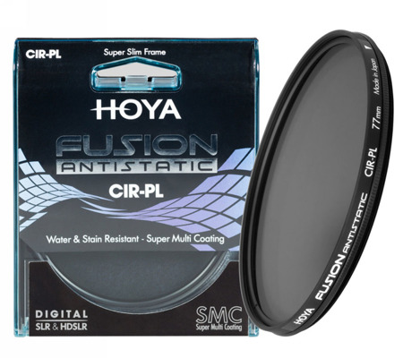 Hoya Fusion Antistatic CIR-PL 62 mm