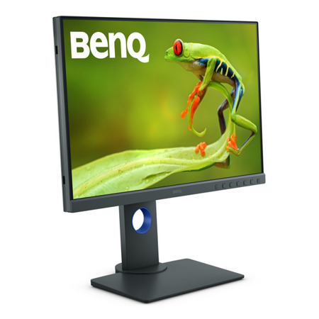 Monitor BenQ SW240 + kaptur