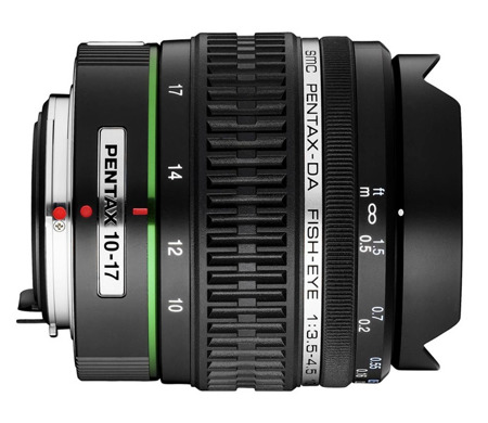 Pentax SMC DA 10-17 mm f/3,5-4.5 ED IF FISH-EYE