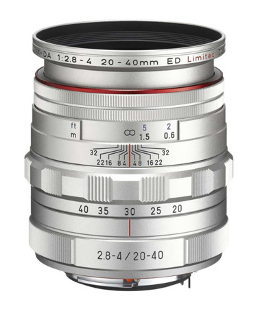 Pentax HD DA 20-40mm F2.8-4 ED Limited DC WR Silver