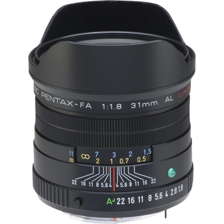 Pentax SMC FA 31 mm f/1.8 Limited Edition czarny