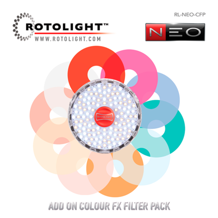 Rotolight Add on Colour FX Filter Pack