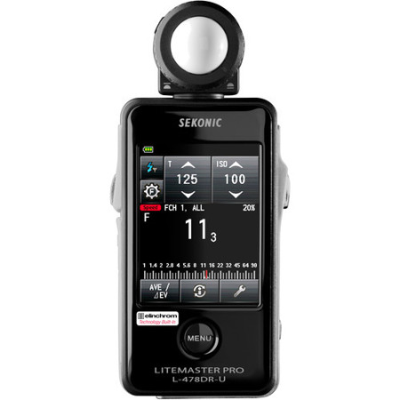 Sekonic L-478DR-U Litemaster Pro do PocketWizard