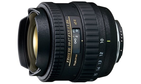 Tokina AF 10-17 mm f/3,5-4,5 AT-X DX FISH-EYE do Canon